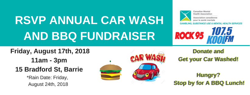 RSVP Annual Car WAsh And BBQ Fundraiser