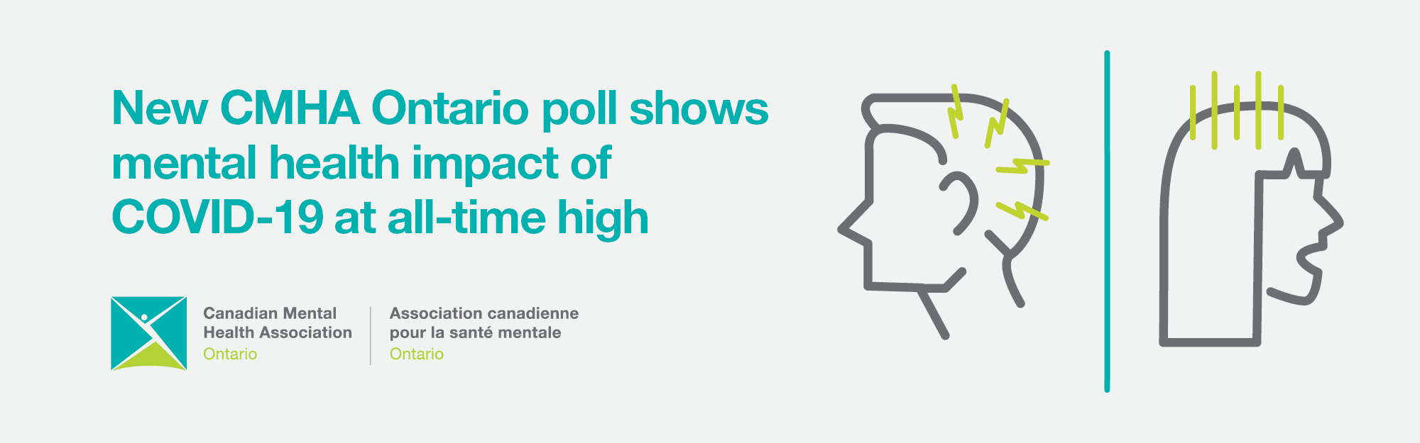 Third poll in CMHA Ontario series indicates   mental health impact of COVID-19 at all-time high