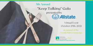 5th Annual Keep Talking Gala web banner